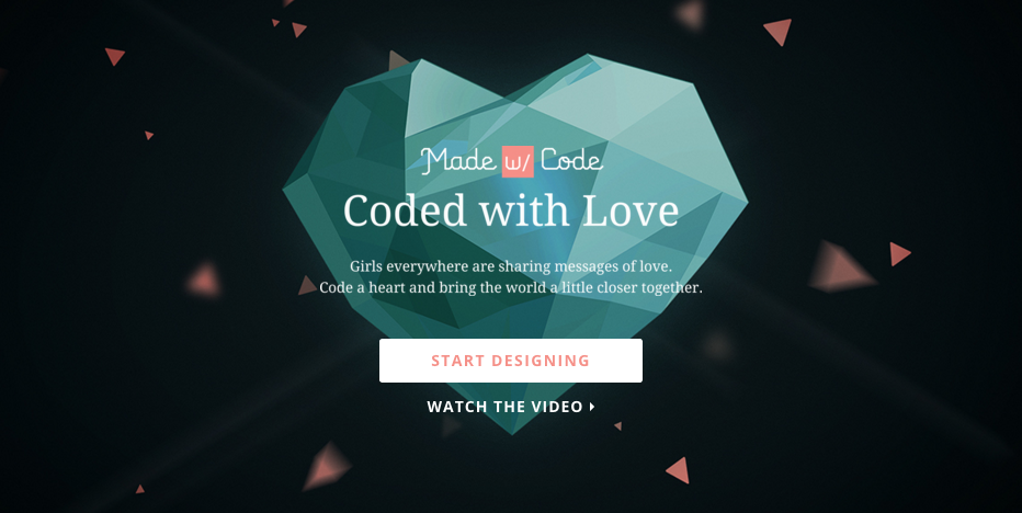 A Made with Code é uma instituição que incentiva que mulheres programem mais.