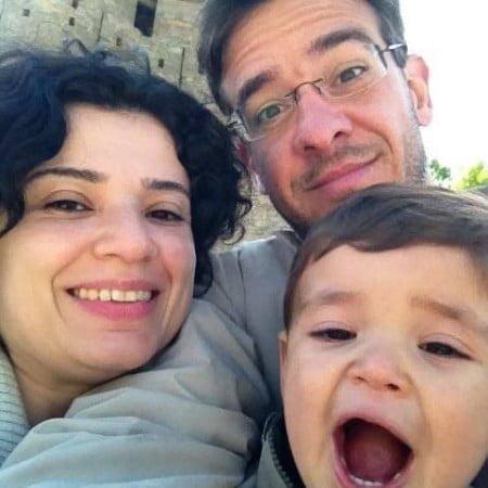 """Ricardo, Raquel e Arthur: """"Ser pai me fez ficar mais focado e eficiente""""."""