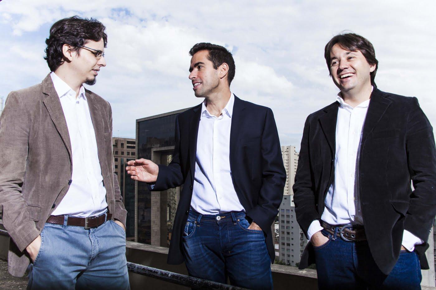 Daniel, Igor e Leonardo: os criadores da Moip, empresa de pagamentos online capaz de concorrer com gigantes como PayPal e PagSeguro.