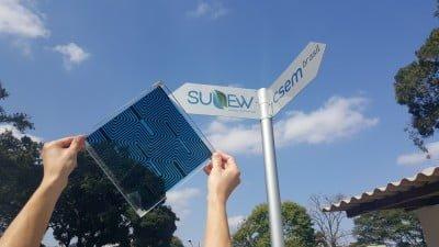 O chamado OVP é um painel solar maleável e pode ter diversas aplicações.