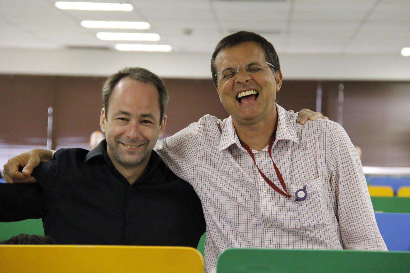 Bernardo e Pedro tiveram o otimismo como aliado para tirar a ClearSale do buraco.