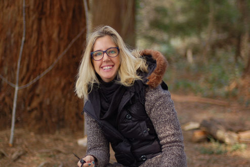 Marilia Barichello faz um paralelo entre o que aprendeu na Singularity University e a experiência holística que teve na Escola Schumacher (acima).