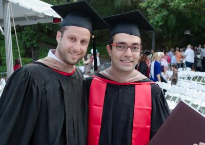 Gabriel e André: a amizade, e a ideia do QuintoAndar, nasceram em Stanford.