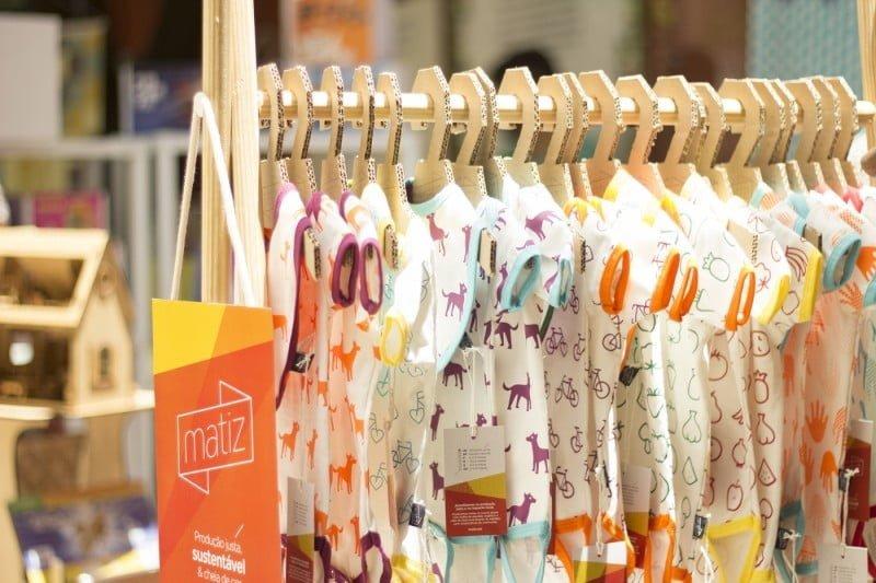 Os fundadores da Matiz queriam cores vivas nas peças que fazem para bebês.