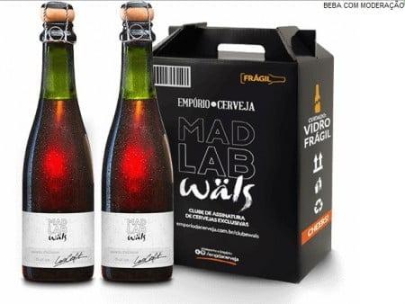 Inovar, agora, é obrigação com metas a bater. A Wäls acaba de lançar um clube de assinatura às cegas, o Mad Lab Wäls.