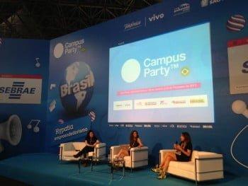 Marina Miranda também trabalha com a Campus Party desde a primeira edição, tendo sido curadora de Inovação do evento em 2015.
