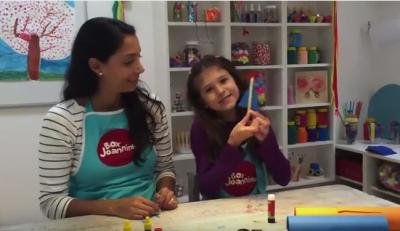 No Youtube, o canal Box Joanninha mostra as brincadeiras de montar.