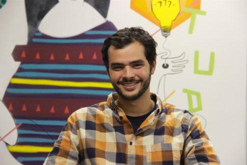 Filipe, CEO da ClapMe, dez quilos mais magro depois de reorganizar a vida pessoal e salvar sua startup da falência.