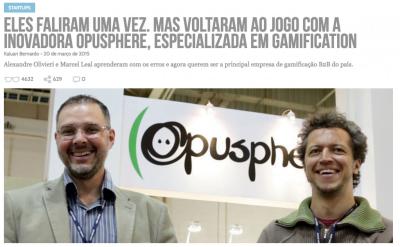 Em 2015, a história da Opusphere foi contada no Draft (clique na imagem para ler).