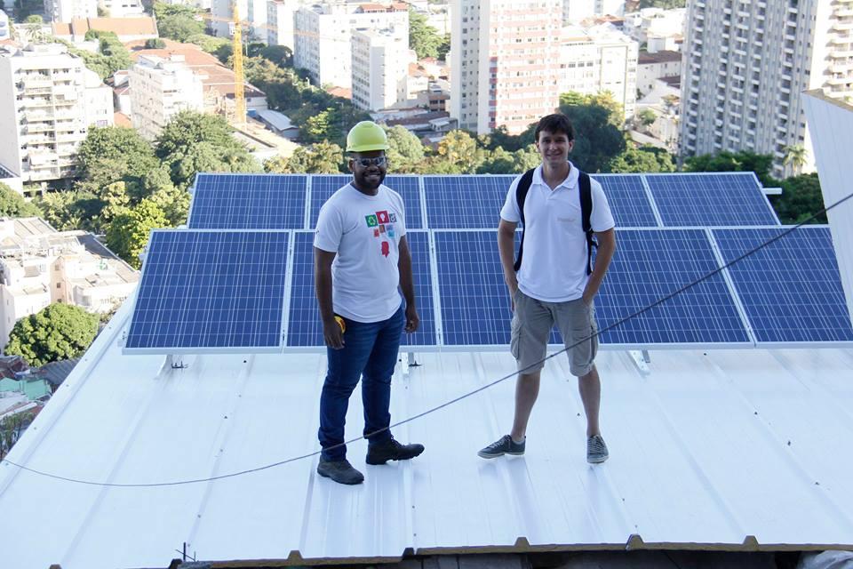 Fábio e Henrique, do Insolar: a parceria veio de terem projetos com objetivos parecidos, ambos gestados no programa Shell Iniciativa jovem.