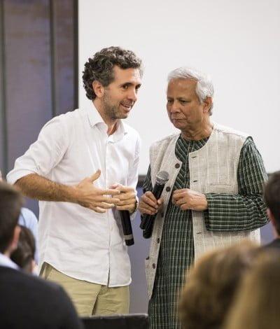 Inspiração e norte: Yunus dá a base para as decisões de Rogério no Brasil.