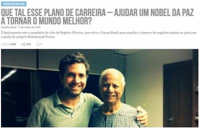 Em março do ano passado, a Yunus Brasil saiu no Draft (clique na imagem para ler).
