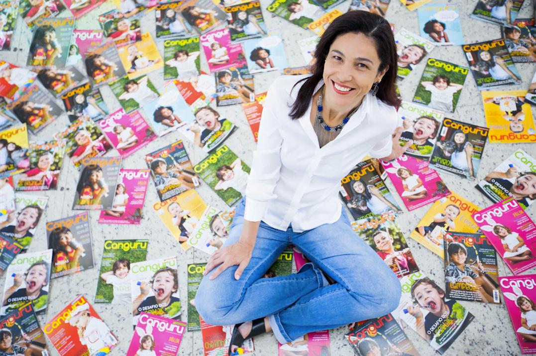 Depois de um processo de autoconhecimento, Ivana Moreira empreendeu uma pequena pérola: uma revista de papel, de sucesso, em plena crise da indústria (foto Nidin Sanches).