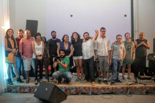 Os integrantes dos sete empreendimentos que formam o Gomeia: um coworking com propósito social, encravado na Baixada Fluminense.