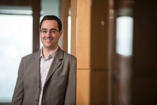 """David Canassa é o diretor da """"startup"""" verde da Votorantim."""