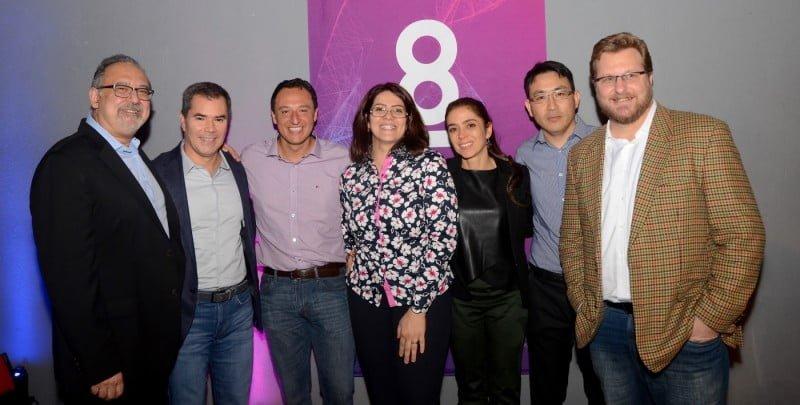 Equipe Tismoo,da esquerda para a direita: Carlos Gadia, Marco Antonio Innocenti, Alysson Muotri, Graciela Pignatari, Patrícia Beltrão Braga, Roberto Herai e Gian Franco Rocchiccioli(foto:Lu Carmada).