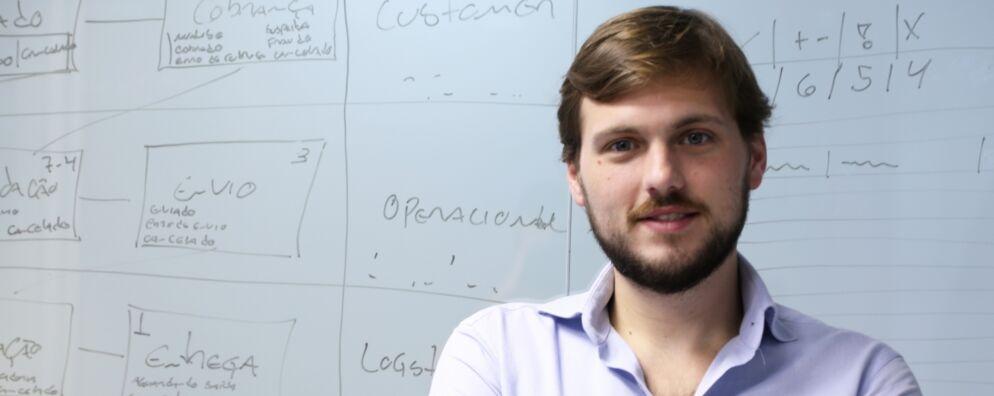 Guilherme Aere dos Santos, fundador da startup, desenvolveu um sistema de venda e entrega de produtos básicos com o qual combate o desperdício e lucra até quatro vezes mais que os supermercados.