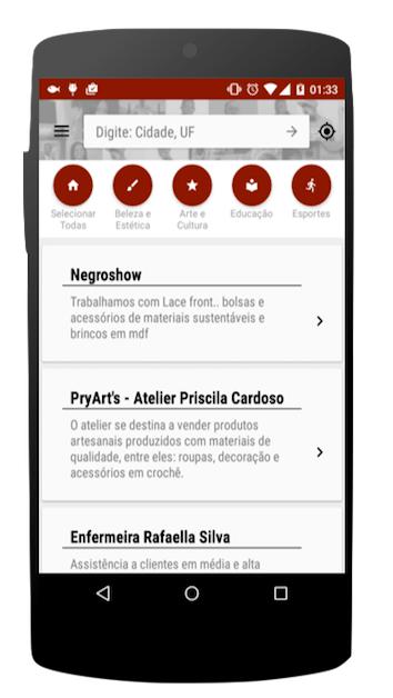 Victor Del Rey é um dos criadores do app Kilombu.