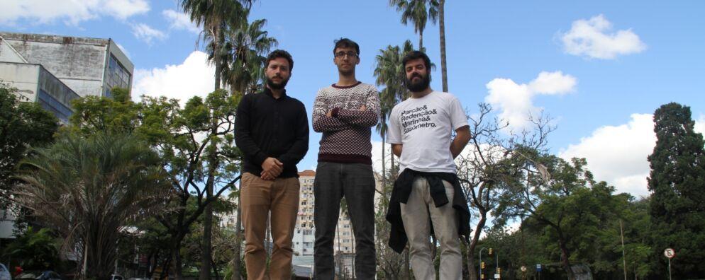 Gabriel, Artur e Luciano: boas expectativas para o futuro da Shoot The Shit, agora constituída como empresa.