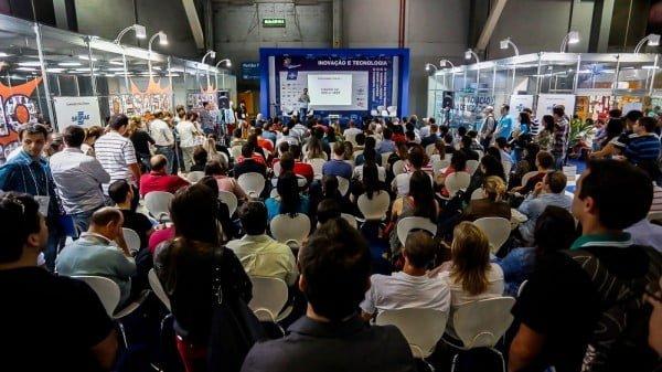 A edição 2014 da FailCon Brazil aconteceu dentro da Feira do Empreendedor Sebrae e teve o maior público da série. Crédito: Emmanuel Denaui