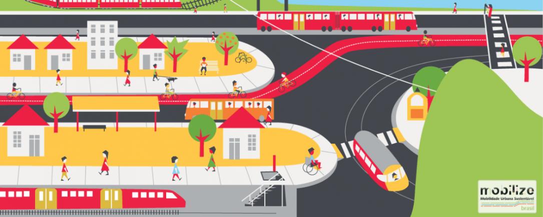 O Mobilize Brasil é a maior referência em estudos de mobilidade urbana sustentável do país.