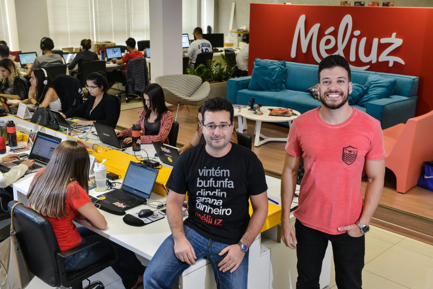 Na Méliuz, Ofli Guimarães e Israel Samen criaram um programa de fidelidade que movimenta bilhões de reais por ano.