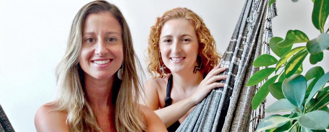 As sócias Julia Bedolo e Ana Fracasso fundaram o Mais Alma para vender produtos bonitos de dentro para fora.