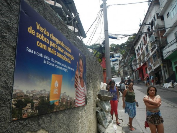 Vidigal, no Rio, foi uma das primeiras favelas a receber o Outdoor Social
