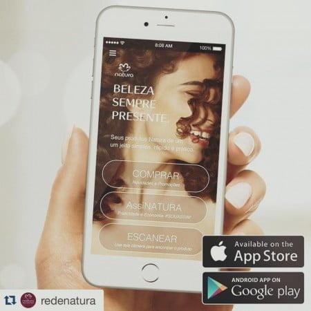 A Natura recorreu à Zup para deixar o relacionamento com as consultoras mais acessível no celular.