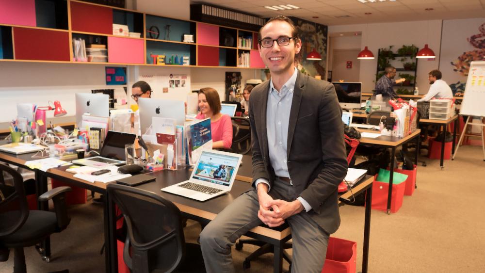 Ao lado de Felipe Salto, Emygdio Carvalho e Marina Cançado, Germano Guimarões fundou o Grupo Tellus, uma mistura de agência, escola e instituto de serviços públicos.