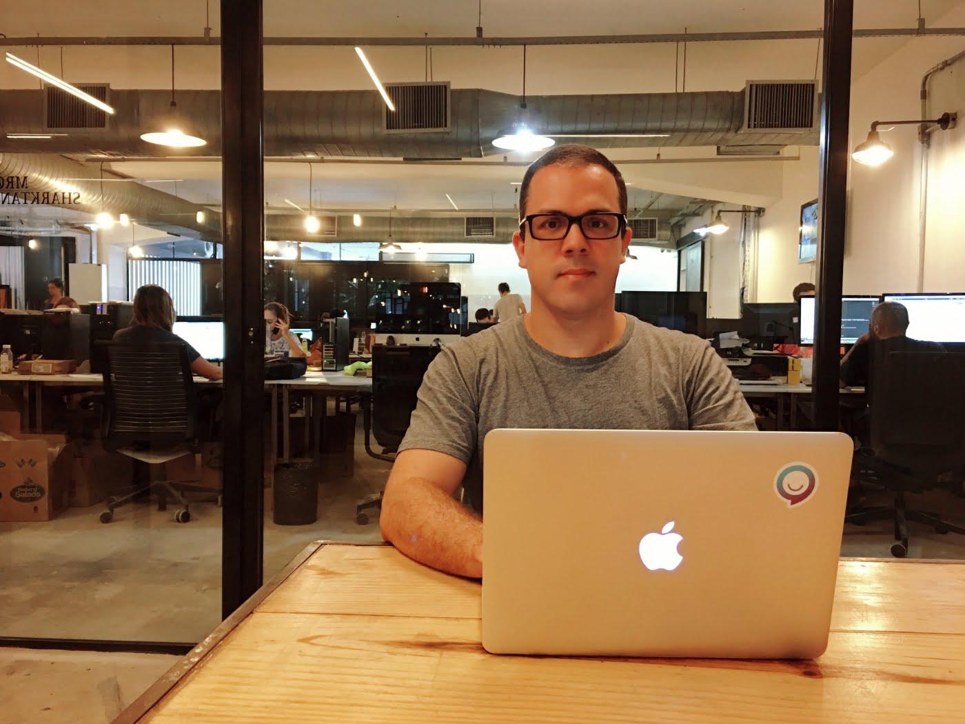 Daniel Pereira, CEO da Luz, espera que a Clara seja o braço direito do pequeno empreendedor