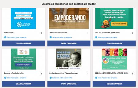 """Somos todos """"publishers"""": no site da Calhau Social há posts pré-prontos para qualquer um publicar em suas redes sociais."""