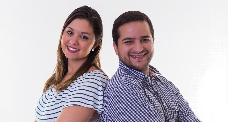 Em busca de unir trabalho e impacto social, Izadora Mattiello e Lorhan Caproni criaram uma organização que oferece serviços híbridos, desde auditoria social até gestão filantrópica (foto: Maria Frazão).