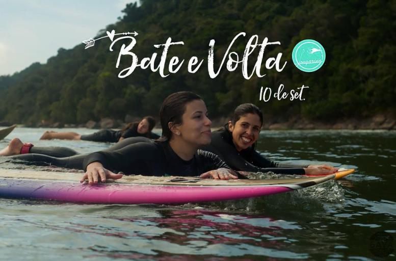 Organizar Bate e Voltas (viagens sem pernoite) para surfar é o carro-chefe da Longarina.