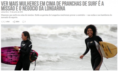 A Longarina apareceu no Draft pela primeira vez em 2015 (clique na imagem para ler).