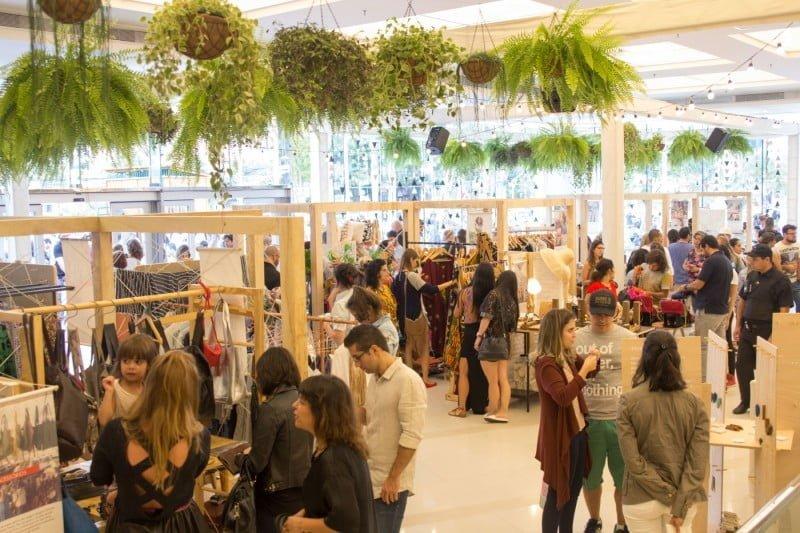 Para as Floristas, oferecer entretenimento e oficinas é uma forma de fortalecer o consumo ético.