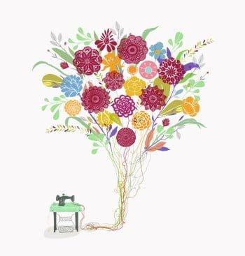 O logotipo da nova empresa foi inspirado em um cartão de aniversário que Cris deu a Nina (ilustração: Anna Cunha).