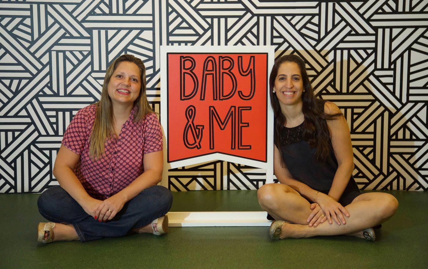 A publicitária Karen Kanaan e a produtora de eventos Ana Carolina Vaz se conheceram em um curso de empreendedorismo do Sebrae. A sinergia foi tanta que hoje elas são sócias na Baby&Me (foto: Paulo Liebert).