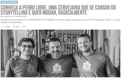 Quando apareceu no Draft pela primeira vez, em 2015, a Perro Libre estava em transição de modelo de negócio (clique na foto para ler).