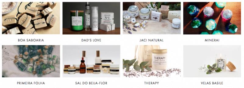 Um dos pilares das Floristas e o storytelling: a cada edição do mercado, a história dos artesãos é (bem) contada e valorizada, no site e na etiqueta dos produtos.