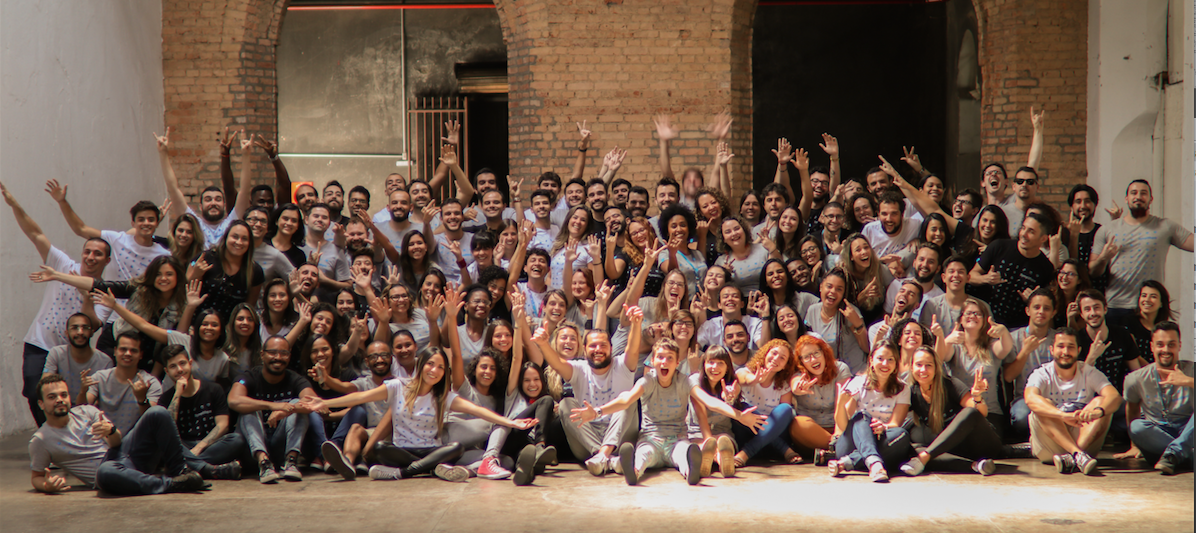 Equipe da Sympla: a maior plataforma de eventos online do país tem hoje 130 funcionários, sediados em Belo Horizonte.
