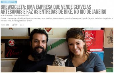 A Brewcicleta apareceu no Draft pela primeira vez há dois anos (clique na foto para ler a reportagem).