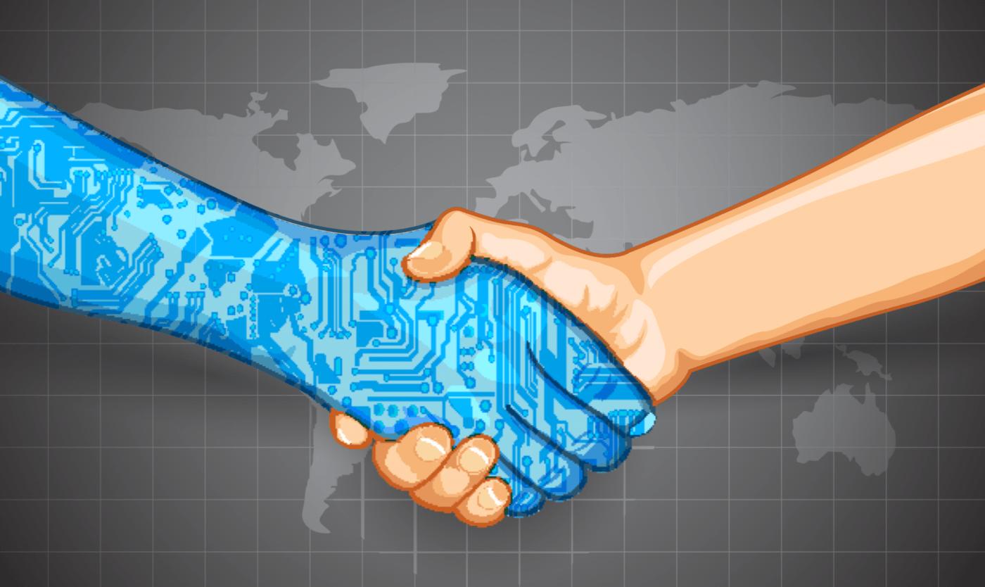 """Não está longe o dia em que não será mais preciso uma testemunha para firmar contratos. Na verdade, isso já é possível. Nos Smart Contracts a tecnologia Blockchain funciona como """"fiadora"""" dos acordos (imagem: reprodução CoinDesk)."""