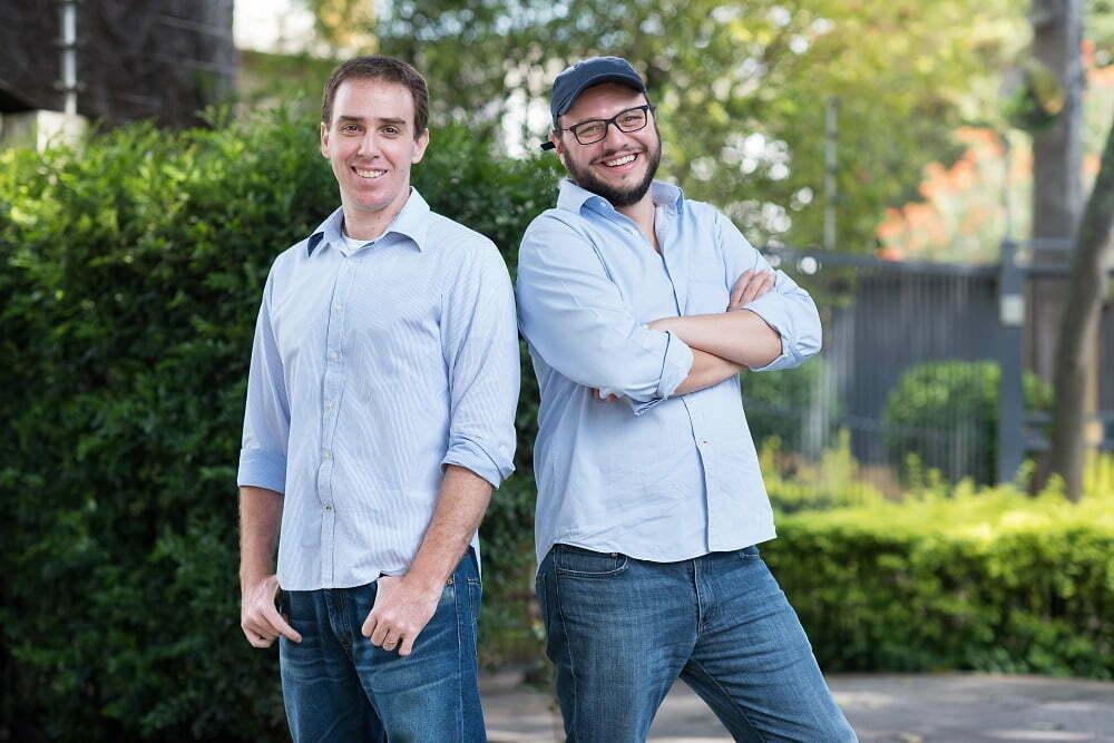 Marcelo e Henry têm cada um uma produtora, mas se associaram para criar a Social Docs, especializada em negócios não lucrativos.