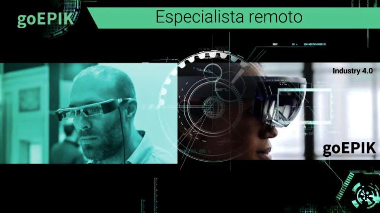 """Há muitas possibilidades de uso da tecnologia GoEpik na indústria. O """"especialista remoto"""" é um deles."""