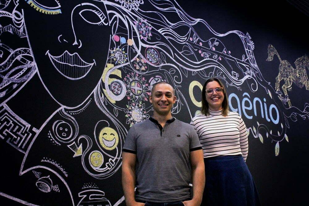 """Wellington Moscon e Priscila Santos são os fundadores da startup, que em poucos meses conquistou clientes e foi eleita a """"mais atraente"""" de 2017."""