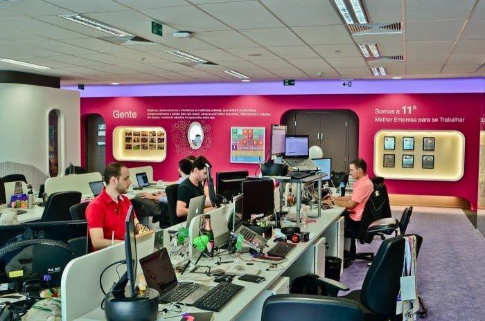 Escritório da Movile em São Paulo. Ao todo, a gigante tem 1.600 funcionários em diversos países da América Latina.