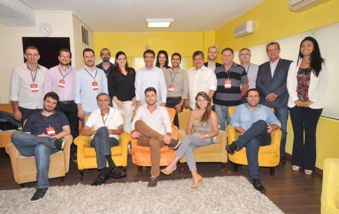 Prefeitos (e potenciais clientes) em um curso de capacitação oferecido pela Muove Brasil, em parceria com o Centro de Liderança Pública.