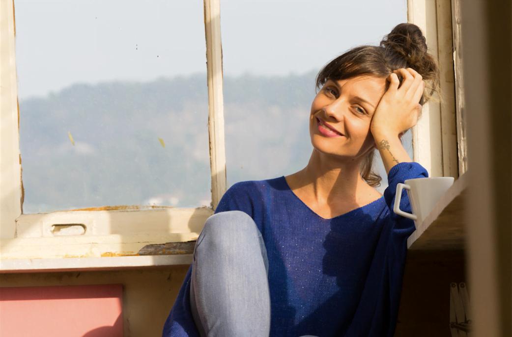 Gabriela Mazepa, da Re-Roupa, é estilista e ativista: sua marca fatura mais com consultorias do que produtos.