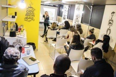 O 55lab Store é lugar para trabalhar, experimentar, participar de capacitação (foto: Bruno Aguiar).